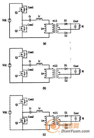 半桥谐振dc-dc变换器谐振频率运行模式简析